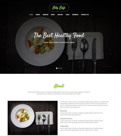 Free Bootstrap 4 Website Template