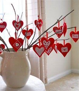 valentine's day red decor