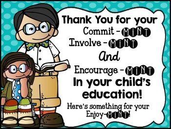 open house parent involvemint poster education