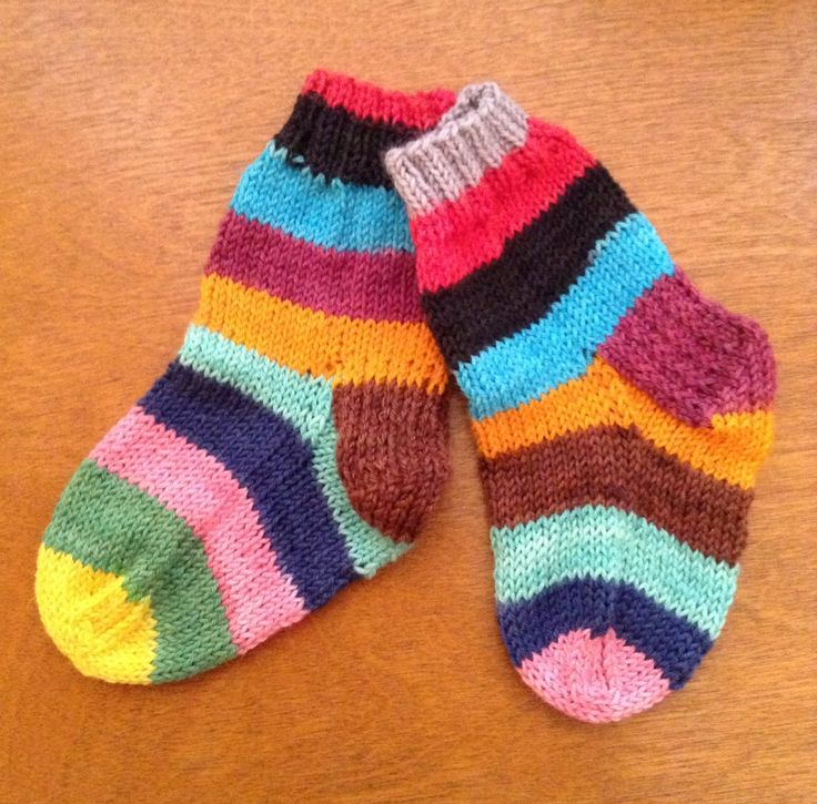 Knitting Slippers For Charity : More cute socks for charity knitting crochet