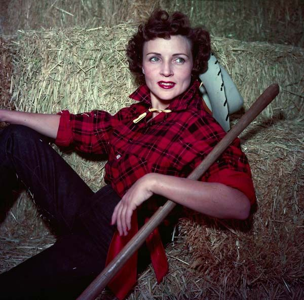 Betty White (b 1922), American actress, comedian, singer, author, and television personality
