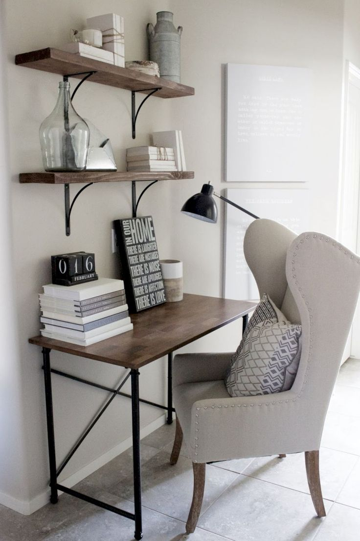awesome 60 Adorable Small Office Furniture Ideas