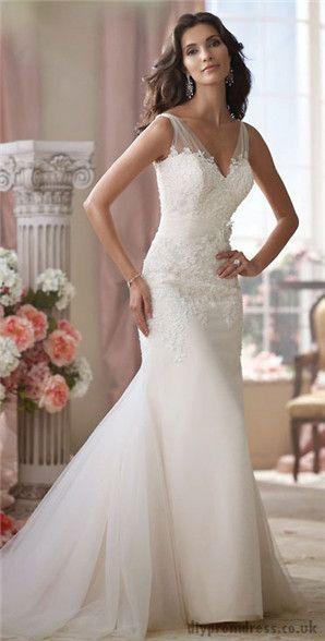 Elegant Wedding Dresses For The Mature Bride : Sleeveless wedding dresses sheath