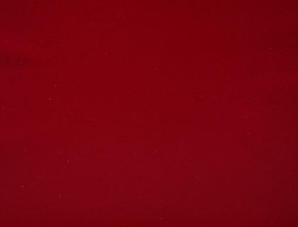 Bordeaux rood, dit is vooral een warme kleur die het beste zou passen in een grote kamer.