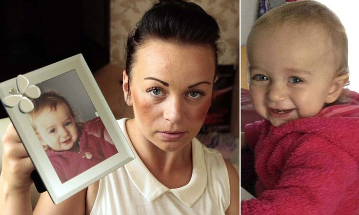 'My daughter was sent home from A&E to die of croup': Grieving mother to sue hospital after one-year-old's death