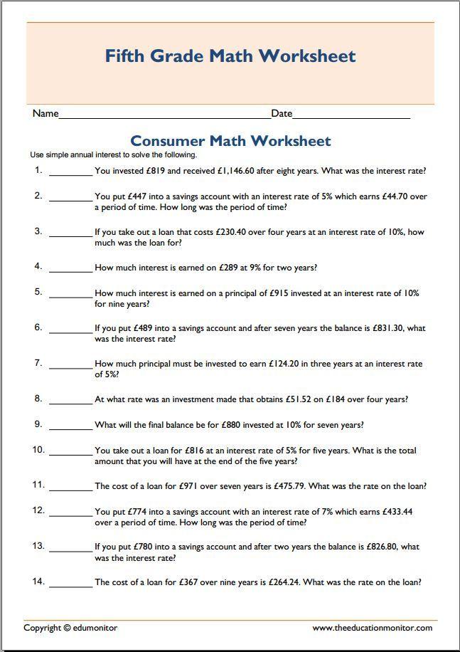 81 best Fifth Grade Worksheets images on Pinterest | Fifth grade ...