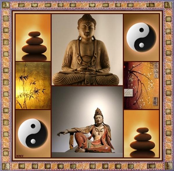 BOEDDHA-Zen schilderij