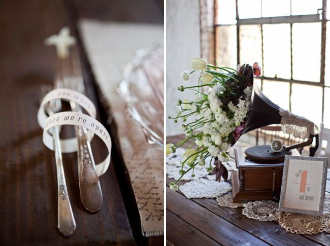 gorgeous phonograph flower decor!!! Will be doing with my mama's phonograph!!!