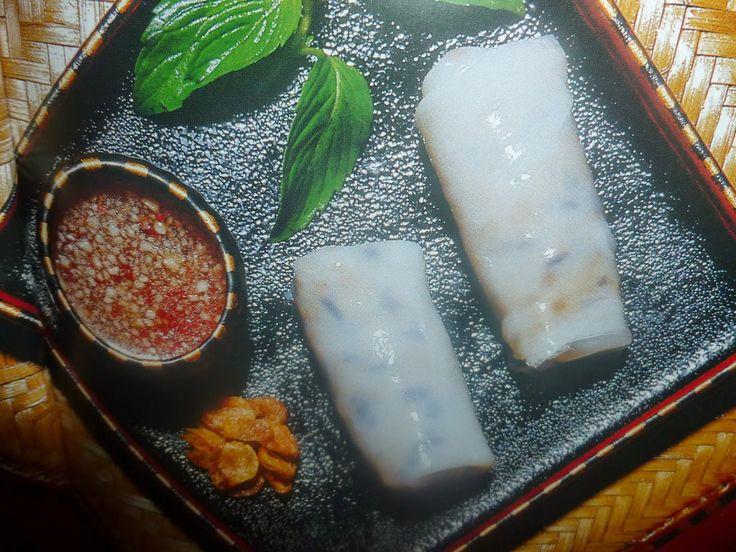 un mondo di ricette: la cucina vietnamita - involtini di farina di riso...