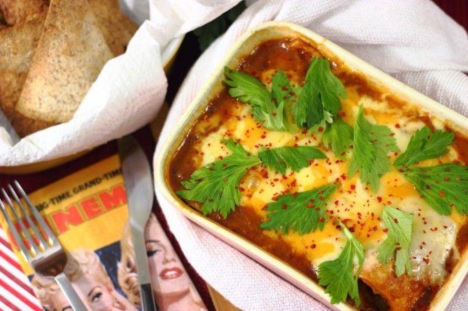 Enchiladas de carne fáciles, microondas