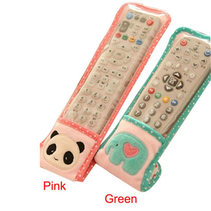 New Panda Design Dustproof TV Remote Control Case Air condition Remote Control Cover Textile Protective Bag