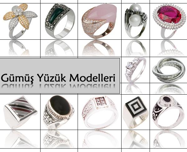 Gümüş Yüzük Modelleri