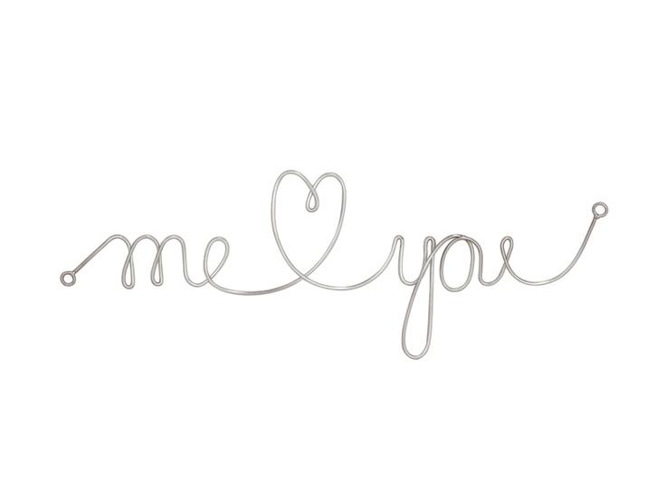 Dixie Muurdecoratie - Me Loving You
