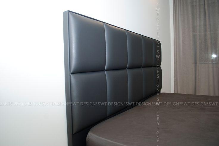 """Кровать в технике """"Плитка"""" С выдвижным ящиком."""
