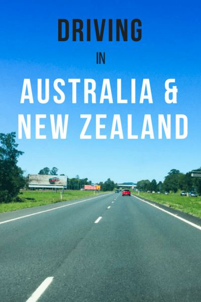 Renting a car in Australia/New Zealand? If you are nervous about driving in Australia and New Zealand, here are some useful tips for you!