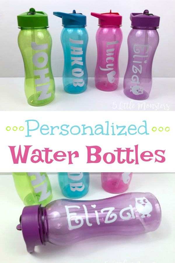 Personalized Water Bottles Personalized Water Bottles Diy