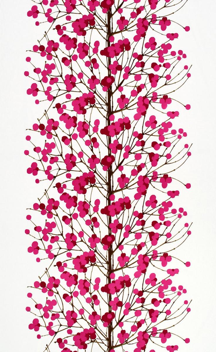 Lumimarja cotton fabric---Marimekko