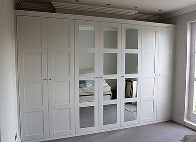 Fitted furniture for London, wardrobes, bookshelves, cupboards, shelves, alcoves | JV Carpentry