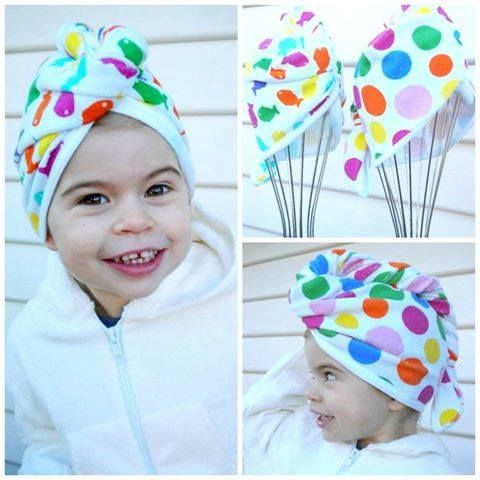 EJ Kids - Accessories - Head Towel Wraps - Twist it, Wrap It, Dry it