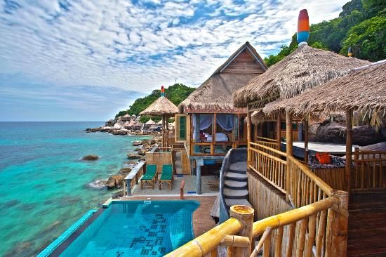 Koh Tao Bamboo Huts - Koh Tao Island THAILIAND - WOW!!!!!! now at the top of my list!