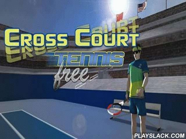 Cross Court Tennis  Android Game - playslack.com , Cross Court Tennis - a magnificent imitator of gigantic tennis for Android!  Take a noise and prevail against the oppositions!  Pass an occupation method and become the most known tennis player in the world.  In the game there re skirt activities which will increase your abilities and eight competitions with three contradictory coverings of court.  Also you are waited for by three levels of effort, 35 oppositions of contradictory effort…