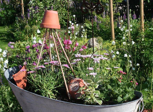 Bathtub Gardening