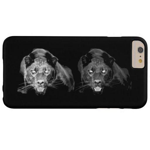 Unique Black & White Jaguar iPhone 6 Plus Case