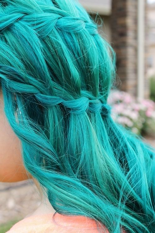 DIY Hair: 10 Ways to Dye Mermaid Hair; super helpful!