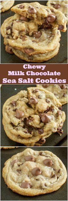 Chewy Milk Chocolate Chewy Milk Chocolate Sea Salt Cookie Recipe...  Chewy Milk Chocolate Chewy Milk Chocolate Sea Salt Cookie Recipe - These are AWESOME!! Recipe : http://ift.tt/1hGiZgA And @ItsNutella  http://ift.tt/2v8iUYW