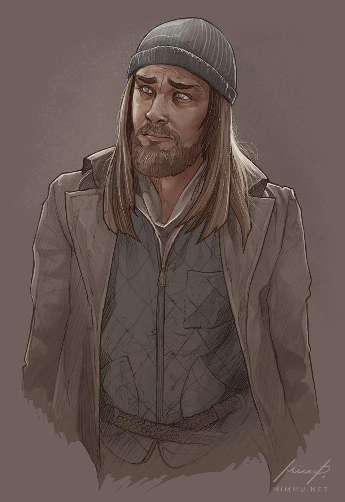 Jesus, The Walking Dead by nirnalie on DeviantArt