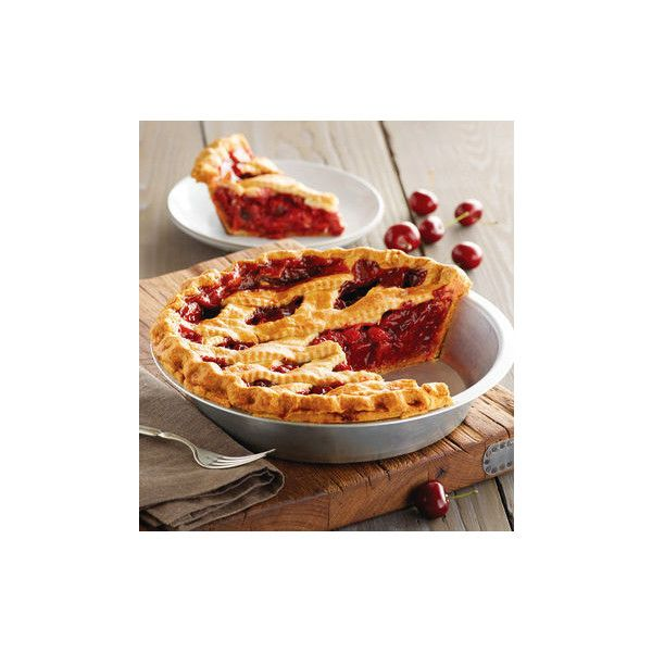 Sweet Lady Jane Cherry Pie | Cherry Pie Delivery | Harry & David (1 010 ZAR) ❤ liked on Polyvore featuring home, kitchen & dining, bakeware and deep dish