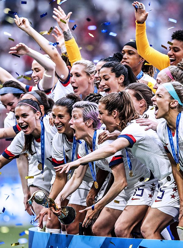 Winners Of The World Cup 2019 Women S Soccer Team Usa Soccer Women Girls Soccer Team