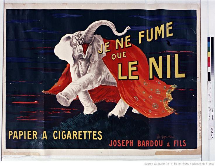 Je ne fume que le Nil, papier à cigarettes... : [affiche] / [Leonetto Cappiello]