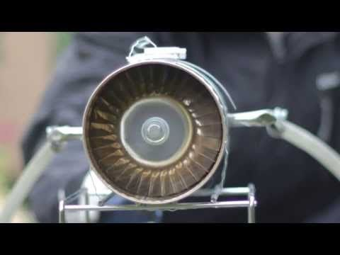 Aerospace Engineering: Homemade Axial Jet Engine (made from tin cans)
