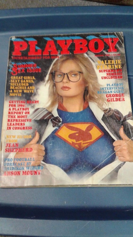 playboy magazine august 1981 valerie perrine from 599