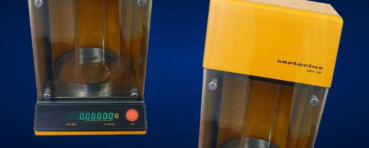 A sartorius balance is used to enter the sample balance - DDS CALORIMETERS
