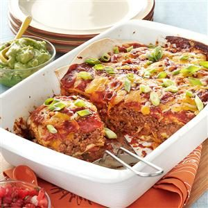 13x9 Casserole Recipes - Favorite classic dishes like pizza, spaghetti, grilled cheese & tomato soup, sloppy joes, tacos and more turn into family-pleasing casserole recipes when made in a 13x9 baking dish.