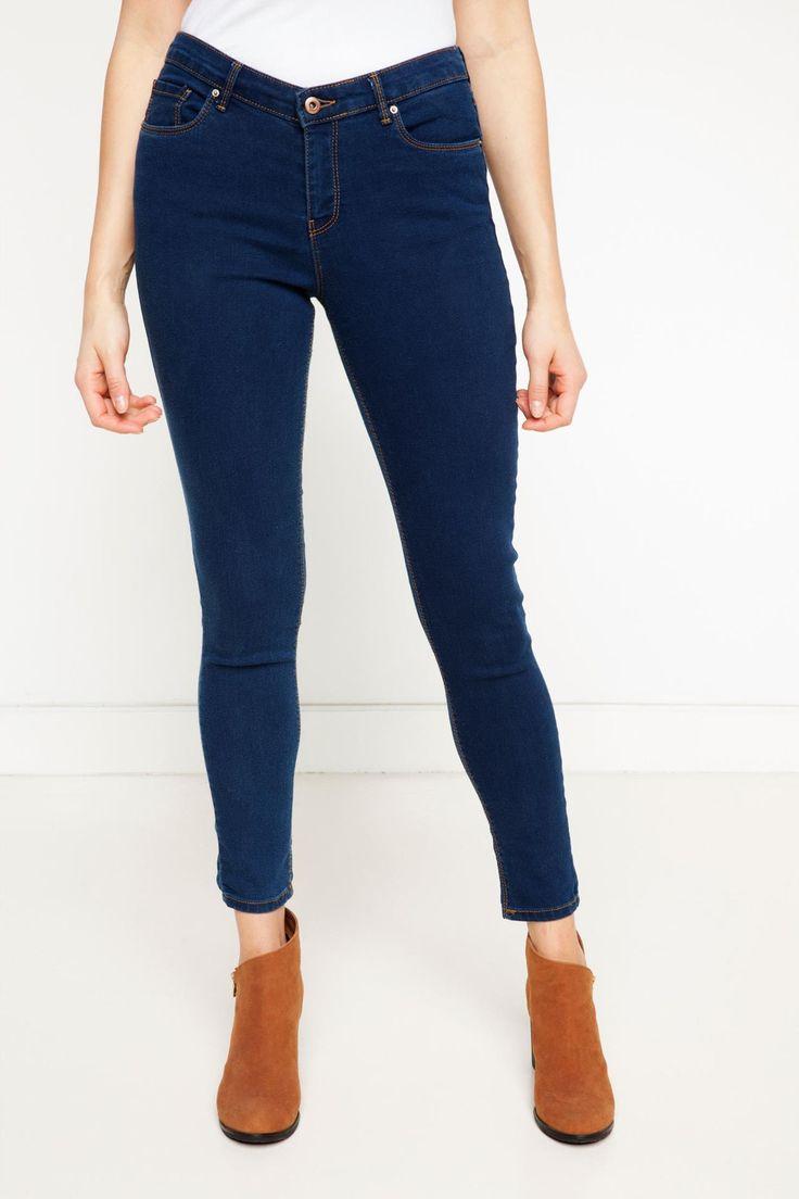 DeFacto Marka Skinny Denim Pantolon || Denim kumaşı ile şık bir görünüm sağlayan , hem trend görünebileceğiniz hem de rahat hareket edebileceğiniz DeFacto bayan pantolon                         http://www.1001stil.com/urun/3196957/skinny-denim-pantolon.html?utm_campaign=DeFacto&utm_source=pinterest