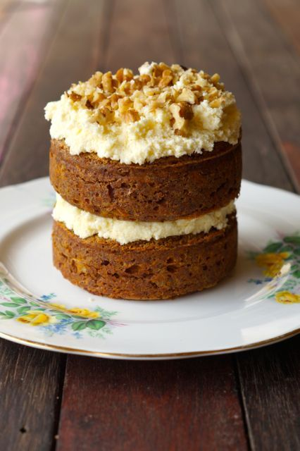 Delicious Sweetener Free, Sugar Free, Grain Free, Gluten Free Carrot Cake