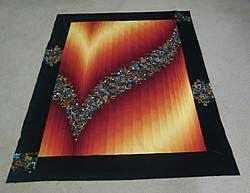 201 best Quilts Bargello images on Pinterest | Bargello quilts ... : ombre quilting fabric - Adamdwight.com