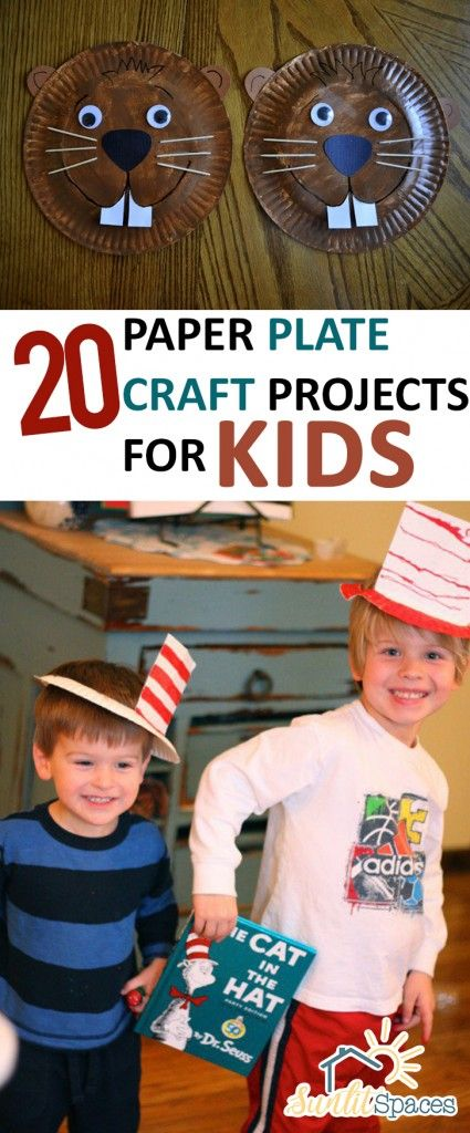 Kids, Kids Crafts, Crafting With Kids, Easy Crafts for Kids, Simple Crafts for Kids, Simple Crafts, 5 Minute Crafts, Crafts With No Clean Up, Paper Plate Crafts, Popular Pin, Popular Crafting Pins