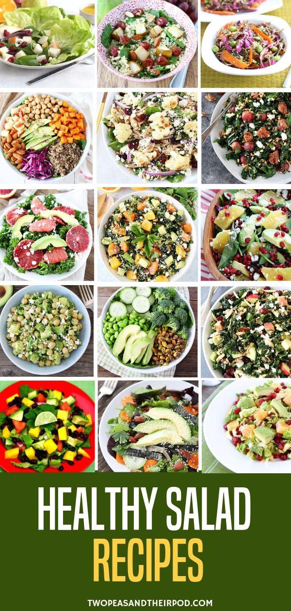 Healthy Salad Recipes Green Salad Recipes Healthy Salad Recipes Healthy Easy Healthy Salad Recipes
