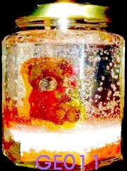 Vela de gel con oso tierno,Velas artesanales hechas a mano, si quieres alguna de las velas expuestas en este tablero comunicate conmigo ya sea por este medio o solicita mi correo electronico sera un placer atenderte