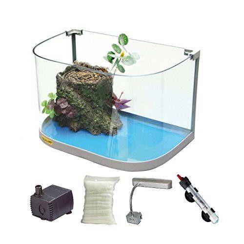 Modelli di acquario per tartarughe ed i prezzi. Scegli il modello adatto alle esigenze di spazio della tua tartaruga d'acqua dolce.