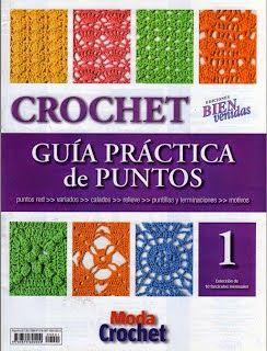 """Colección de revistas """"Guía Práctica de puntos"""" - Revistas de crochet y tejidos gratis"""