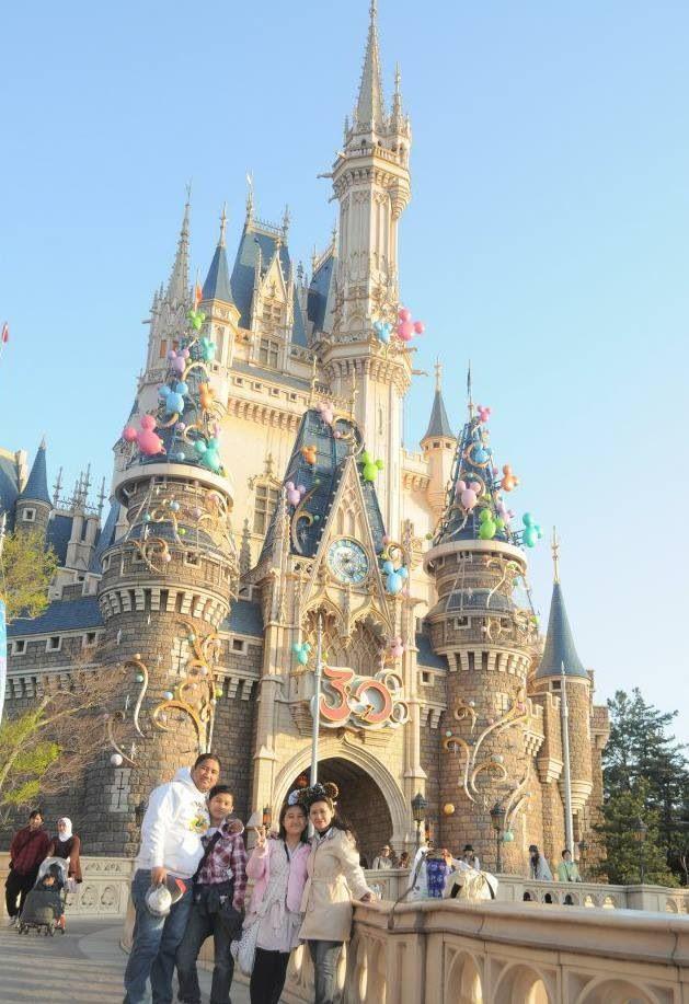 Disney Land Tokyo Japan