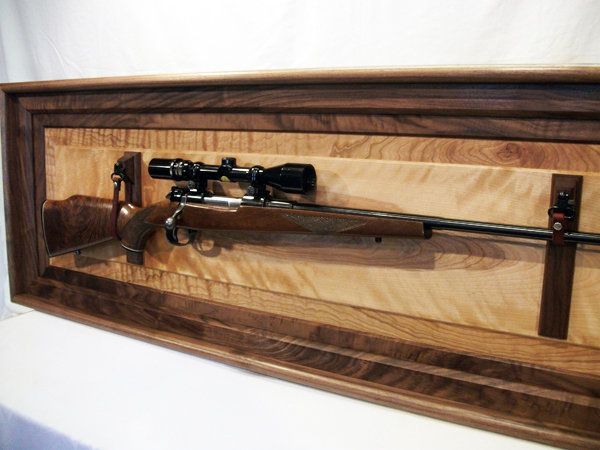 Rifle Display - by WoodshopJoe @ LumberJocks.com ~ woodworking community