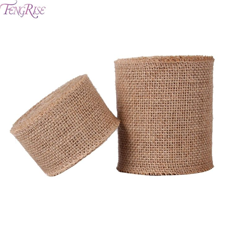 Cheap party supplies, Buy Quality natural jute directly from China jute roll Suppliers: FENGRISE 5 10cm 5M Sisal Wedding Centerpieces Decoration DIY Craft Burlap Ribbon Natural Jute Roll Rustic Festive Party Supplies