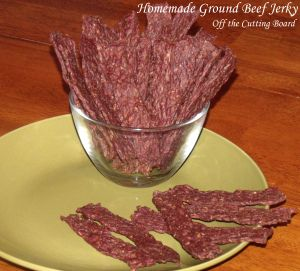 Ground beef jerky recipe