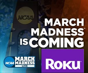 Watch NCAA March Madness 2016 games live on Roku and other streaming TV devices  College fans will be able to watch live tournament action from the 2016 NCAA Division I Men's Basketball Championship on the  NCAA March Madness Live  app, available on Roku players, Roku TV, Amazon Fire TV, Apple TV, and many other devices. The app includes Google Cast and Airplay support, along with many other new features.    All games broadcast on CBS can be watched on desktop, mobile devices, and ta..